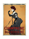 Champagne De Rochegre Prints by Leonetto Cappiello