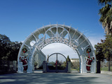 Entrance Arch to Louis Armstrong Park Photo by Carol Highsmith