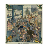 Toy Department Prints by Louis M. Glackens