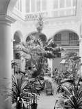 Courtyard, Hotel Florida, Havana, Cuba Photo