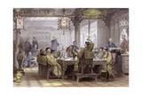 Mandarin Dinner Party Prints by Thomas Allom