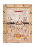 Emperor Muhammad Shah Presides over Celebrations Prints