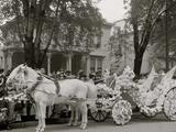 Bi-Centenary Celebration, Floral Parade, Nume Cadillacs Carriage Float, Detroit, Mich. Photo