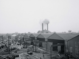 A Portion of the Yard, Great Lakes Engineering Works, Ecorse, Mich. Photo