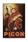 Picon Print by Achille Lucien Mauzan