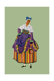 Peasant from Thiers Carries a Jug Posters by Elizabeth Whitney Moffat