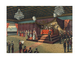 Wedding Reception of Crown Prince of Japanese Imperial Family Poster