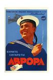 Russian Sailors of the Fleet Prefer Aroma Cigarettes Art