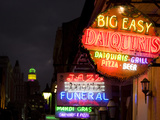 Neon Signs the French Quarter Photo by Carol Highsmith