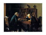Chess Problem Print by Isidor Kaufmann