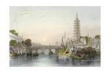 Bridge of Nanking Posters by Thomas Allom