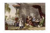 Ladies at Cards Prints by Thomas Allom