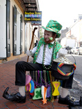 Dressed for St. Paddy's Day Photo by Carol Highsmith
