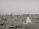 Harbor from Crocker Park, Marblehead, Mass. Photo
