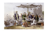Rice Sellers Posters by Thomas Allom