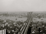 East River and Brooklyn Bridge, New York, N.Y. Photo