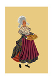 Merchant Woman from Galettos Du Gresivaudan Posters by Elizabeth Whitney Moffat