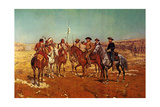 Custer's Demand Prints by Charles Shreyvogel