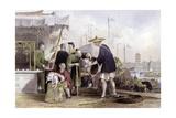 Cat Tea Merchants Posters by Thomas Allom