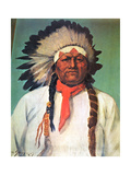 Indian Chief White Eagle Posters by Charles Shreyvogel