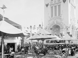 Cafe and Outdoor Vaudeville, Dreamland, Coney Island, N.Y. Photo