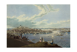 View of the City of Boston from Dorchester Heights Art by Robert Havell