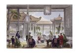 Jugglers Court Mandarin's Palace Prints by Thomas Allom