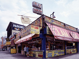 Coney Island Clams, Dogs, Heroes and Shish Kabob Posters by Carol Highsmith