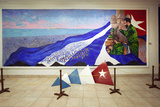 Oil Painting of Fidel Castro at a Revolution Museum in Havana, Cuba Photo by Carol Highsmith