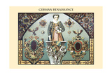 Ornament-German Renaissance Posters by  Racinet