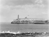 Morro Castle from Cabanas (Sunset), Havana, Cuba Photo by William Henry Jackson