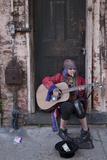 Street Musician for $1.00 Photo by Carol Highsmith