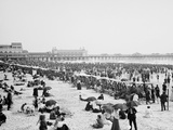 Bathing Hour, Atlantic City, N.J. Photo