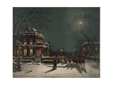 Christmas Eve Party Prints by  J. Hoover & Son