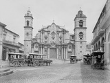 La Catedral, Havana, Cathedral of the Virgin Mary of the Immaculate Conception Photo by William Henry Jackson