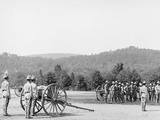 Light Artillery Drill, Hand Battery, West Point, N.Y. Photo
