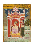 Malkos Raga, Folio from a Ragamala (Garland of Melodies) Prints