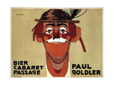 Bier Cabaret Passage / Paul Goldler Prints by Josef Steiner
