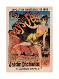 Le Pays Des Fees Posters by Jules Chéret