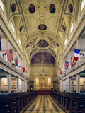 Interior of the St. Louis Cathedral Photo by Carol Highsmith