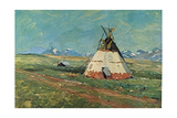 Blackfoot Reservation Montana Prints by Charles Shreyvogel