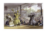 Scene from Spectacle Sun Moon Poster by Thomas Allom