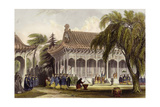 Peking Hall of Audience Art by Thomas Allom