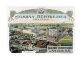 Johann Kuhtreiber - Brauerei Posters by  Eckert & Pflug