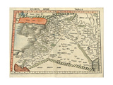 Israel and Arabia Prints by  Ptolemy