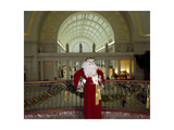 Santa Claus at the Library Prints by Carol Highsmith