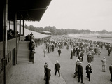 Saratoga Race Track, Saratoga Springs, N.Y. Foto