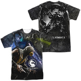 Mortal Kombat X- Three Of A Kind (Front/Back Print) T-Shirt