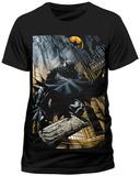 Batman- City Scape (Slim Fit) T-shirts