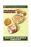 Appetizers of Canned Crabs Prints